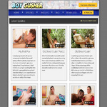 Boy Gusher Paypal Purchase