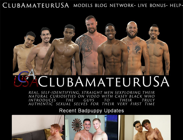 Club Amateur USA With Bank Pay