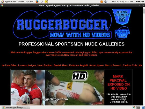 Get Ruggerbugger.com Account