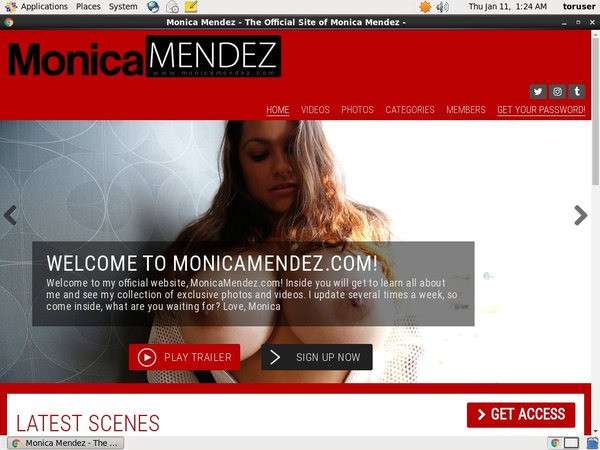 How To Access Monica Mendez