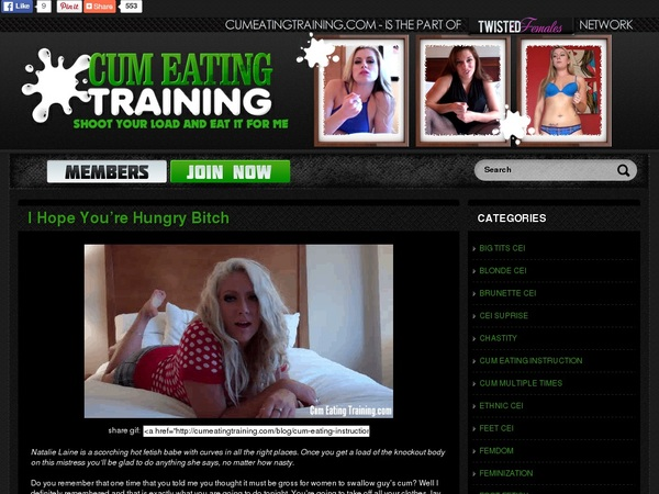 How To Join Cumeatingtraining.com