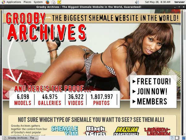 New Grooby-archives.com Password