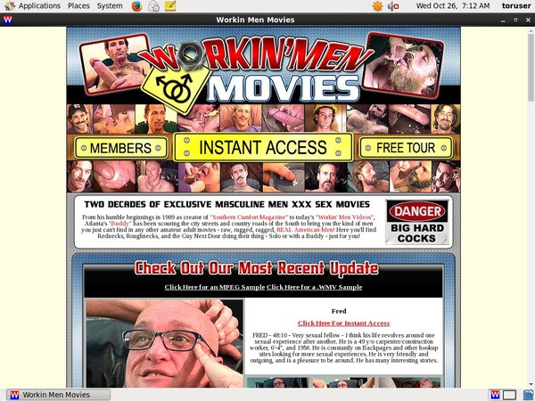 Workin Men Movies Discount Tour