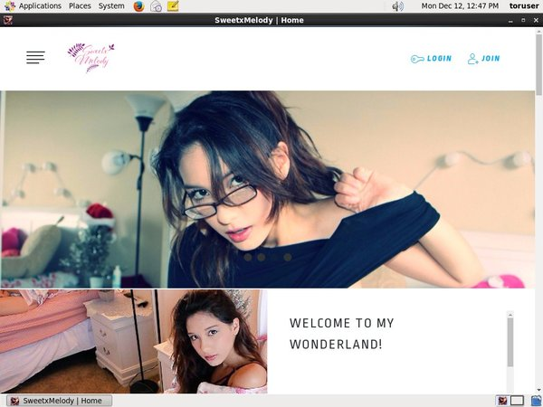 SweetxMelody Make Account