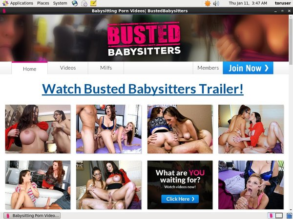 Discounts Busted Babysitters