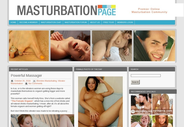 Masturbation Page Paysite Passwords